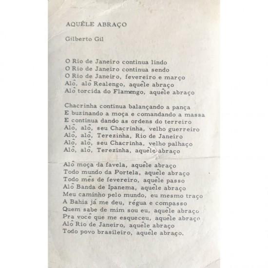 Gilberto Gil aquele abraço b