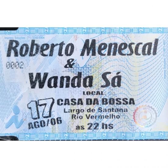 Roberto Menescal e Wanda...