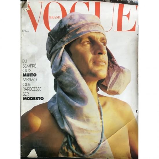 Revista Vogue - Caetano Veloso