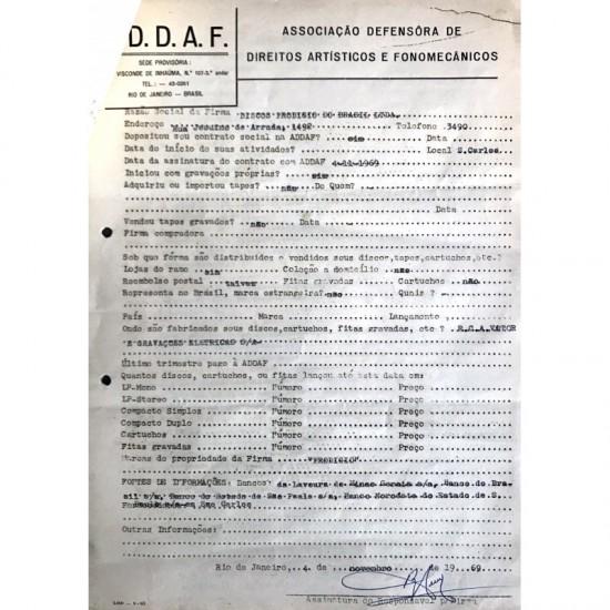 Contrato Entre Discos...
