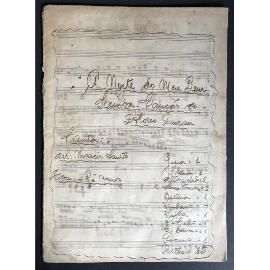 Partitura Manuscrita De...