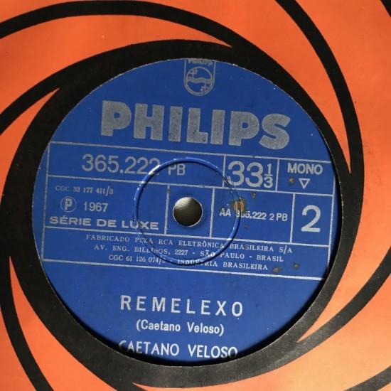 """Caetano Veloso 7"""" 1967..."""
