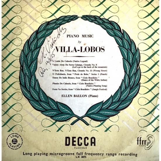 Villa-lobos Piano Music...