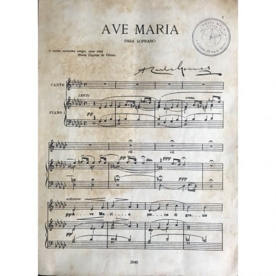 AVE MARIA ( CHANCELA DE...