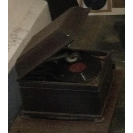 Antiga Vitrola Americana De...