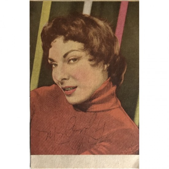 Marlene, Autografada.
