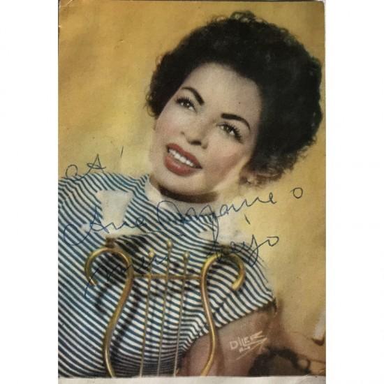 Ângela Maria, Autografada.
