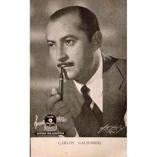 Cartão: Carlos Galhardo....