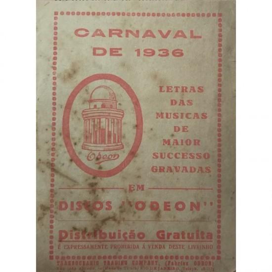 Carnaval de 1936-discos Odeon