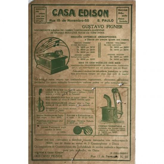 Casa Edison-folheto