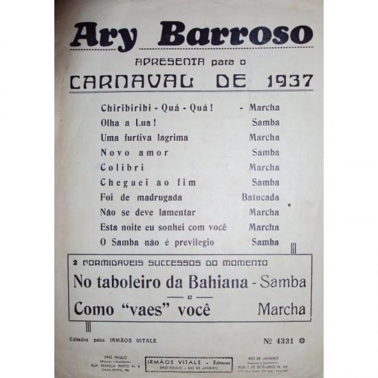 Ary Barroso-carnaval de 1937