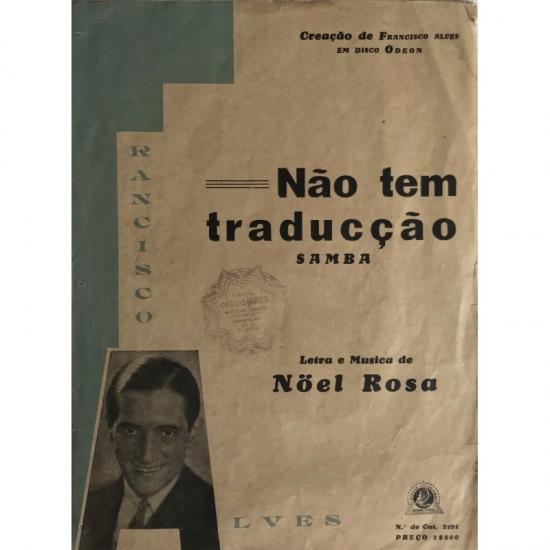 "Noel Rosa - Samba ""não Tem..."