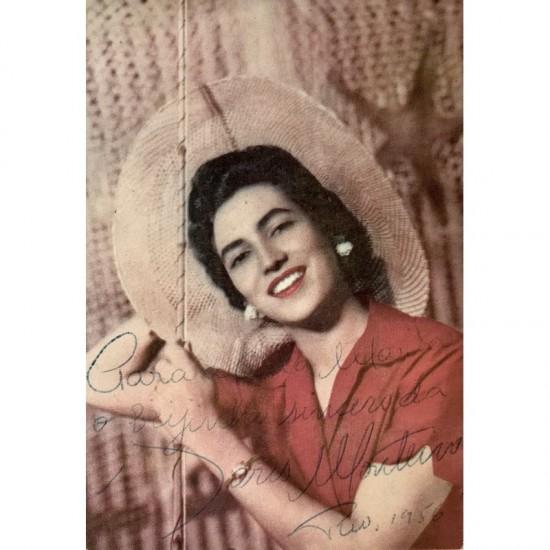 Doris Monteiro, Autografada.
