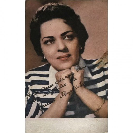 Linda Baptista, Autografada.