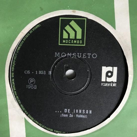 Disco Vinil: Monsueto....