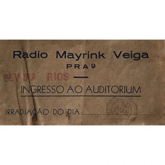 Rádio Mayrink Veiga-elvira...